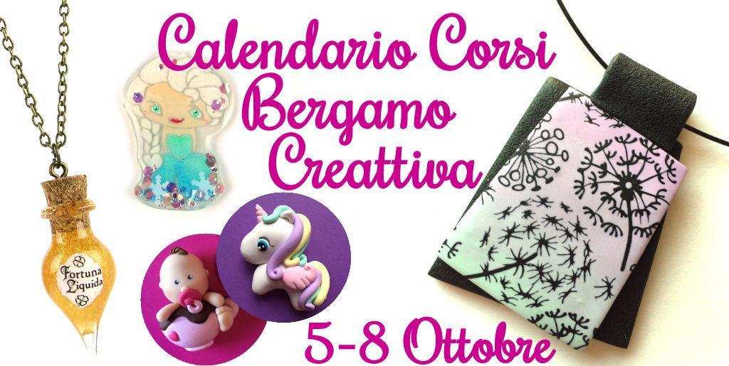 Calendario Corsi Creattiva Bergamo Autunno 2017