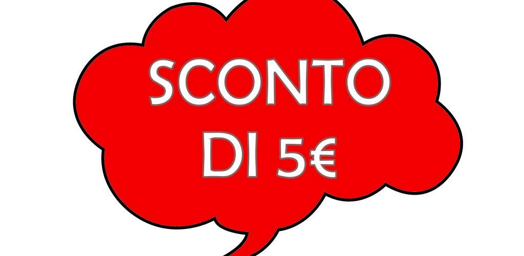 Come ricevere un buono sconto di 5€!!!