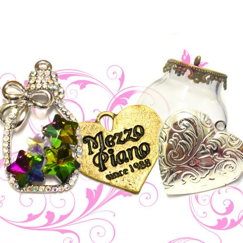 CHARM, CONNETTORI, LOCKET, MINIMONDI E CAMPANELLI