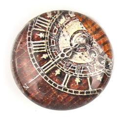 Cabochon 20mm con stampa - Meridiane - Mod. 02
