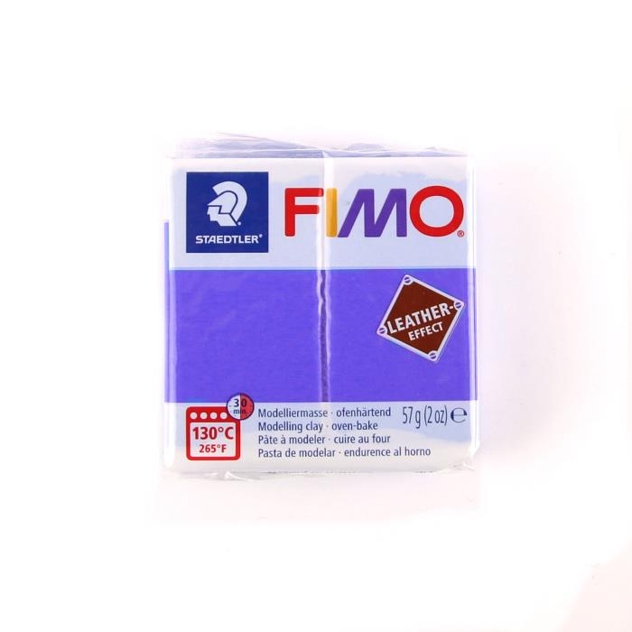 Fimo leather 57gr n. 309 - INDACO