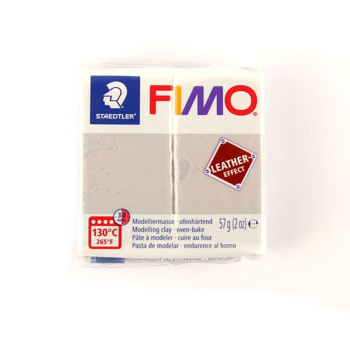 Fimo leather 57gr n. 809 - COLOMBA