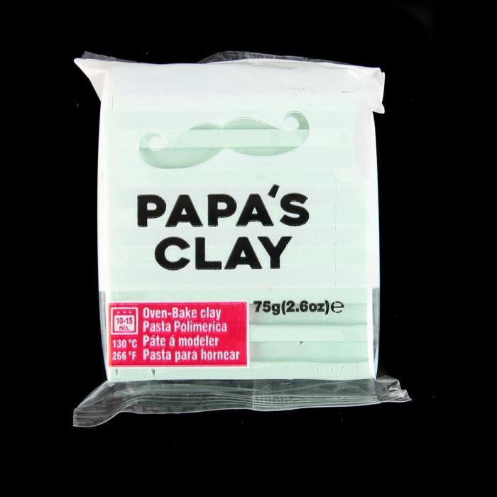 Papa's Clay 75gr - Colore: MINT GREEN - Verde Menta