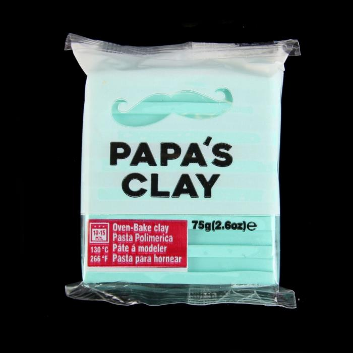 Papa's Clay 75gr - Colore: TURQUOISE - Turchese