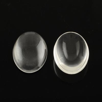 Cabochon ovale trasparente - 20x30mm