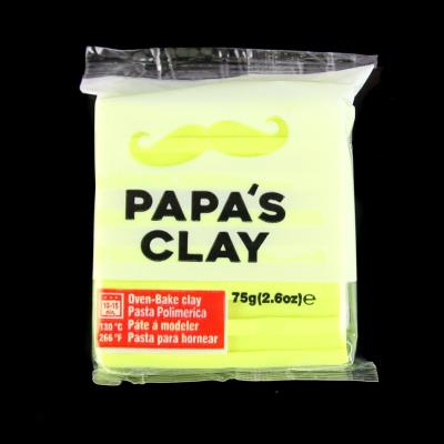 Papa's Clay 75gr - Colore: YELLOW NEON - Yellow Neon