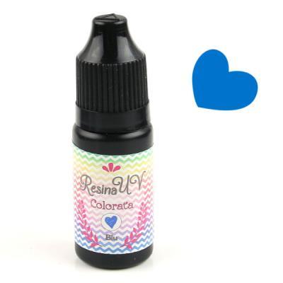 Resina UV Colorata - Blu - 10gr