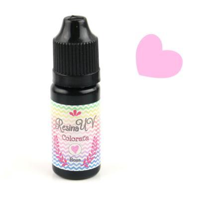Resina UV Colorata - Rosa - 10gr